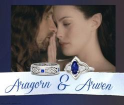 Aragorn & Arwen | 14 Wedding Rings Of Your Favorite Fictional Couples: Fictional Couples, Couple Wedding Rings, Wedding Ideas, Aragorn Amp