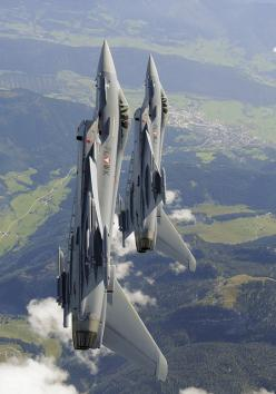 Austrian Airforce Eurofighter's  by Agamemnon1: Aviation, Military Aircraft, Aircraft Military, Airforce Eurofighter S, Airforce Eurofighters, Airforce Aeroplanes, Aircraft, Photo