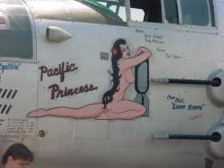 "B-25 ""Pacific Princess"" nose art: Nose Art, Aviation Pin, Aircraft Nose, Noseart Pinup S, Airplane Nose, Aircraft Art, Plane Art, Pin Up, Aircraft Pinups"