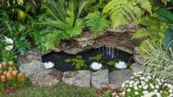 Backyard Ponds: Garden Ideas, Backyard Ponds, Home And Garden, Garden Ponds, Waterfeature, Better Homes And Gardens, Water Garden, Small Garden