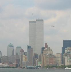 Before the 1st plane hit the WTC tower: Wtc, Twin Towers, 09 11 2001, 9 11 01, September11, Plane Attack, 911, Planes, September 11Th