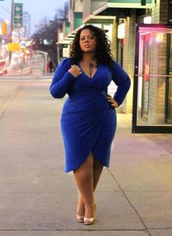 big beautiful black girls. curves. curvy plus size. fashion. Full figure. BBW. Accept your body. Body consciousness. Fragyl Mari supports you: Wrap Dresses, Plus Size, Curvy Girls, Beautiful, Size Fashion, Bbw, Big Girls, Curves