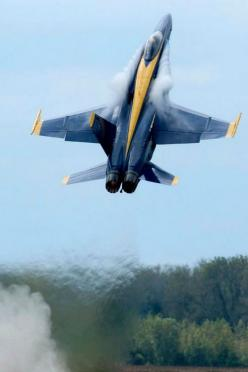 Blue Angels F-18 Hornet goes vertical!: Aviation, Sky Airplanes, Blue Angels Air, Airplanes Western Ones, Air Blue Angels, Jet, Air Planes, Aircraft Planes Helo S