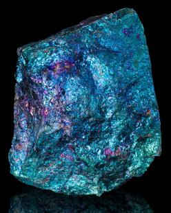 Bornite - Peacock Ore - This crystal brings forth freshness and newness to life. It is a stone of happiness, providing a message that life is a joyful experience. It enourages you to seek new heights and fully enjoy the experience. An excellent healing st