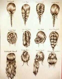 braid styles: Hair Ideas, Hairstyles, Hair Styles, Makeup, Braids, Beauty