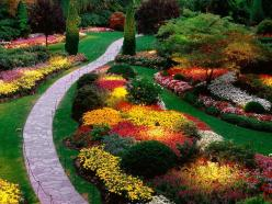 Butchart Gardens, Brentwood Bay in British Columbia.  No wonder a million people visit each year!: Ideas, Color, Gardens, Gardening, Landscape