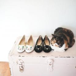 Cat flats!: Cats, Animals, Kitty Cat, Charlotte Olympia, Crazy Cat, Cat Flats, Cat Shoes, Charlotteolympia, Cat Lady