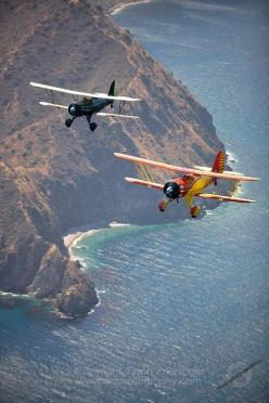 Catalina Been to Catilina by plane and  boat.  Want to stay longer and cover the total island: Biplanes Triplanes, Catalina Biplanes, Ymf Biplanes, California Beautiful, Biplanes Pass, Catalina Island, Waco Biplanes, Awesome Places, Santa Catalina