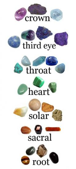 Chakra Stones-I wish I knew someone who actually knew what they were doing with this.  I've always been curious about it.: Gemstones, Healing Crystals, Chakra Stones, Healing Stones, Rock, Crystal Healing, Chakras, Chakra Healing, Chakra Crystal