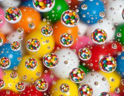 Check out the website to see how they took this picture! It's reigniting my love for photography.: Photos, Bubble, Water Drops, Colorful, Colors, Art, Rainbow, Water Droplets, Photography