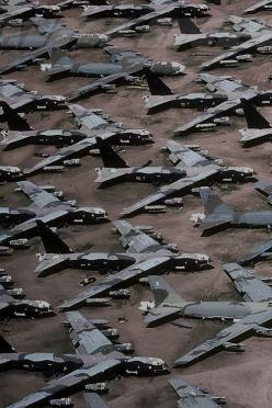 clearly [dripping sarcasm], money well spent...: B 52 Graveyard, Airplane Graveyard, Afb Airplane, Bone Yards, Aircraft Graveyard, Airplane Jets, Boneyards, B 52 Boneyard
