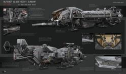 concept ships: Butcher Class Heavy Gunship by KaranaK: Conceptart Hi Tech, Class Heavy, Butcher Class, Concept Art, Concept Ship, Conceptship, Sci Fi, Scifi Spacecraft