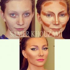 Contouring at its best: Face, Contours, Beauty Tips, Make Up, Style, Makeup, Hair, Contouring