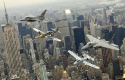 creative, Examples, Inspiration, machine, Photography, beautiful,: Airplane, Aircraft, Thunderbolt Ii, P 51 Mustang, New York, Photo