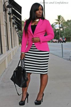 Curves and Confidence | Inspiring Curvy Fashionistas One Outfit At A Time: October 2012: Office, Style, Curves And Confidence, Outfit, Curvy Women, Inspiring Curvy