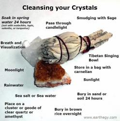 Diff Ways of Cleansing *to research as every stone/crystal has unique properties to protect: Cleanse, Gemstones, Healing Crystals, Crystal Cleansing, Wicca, Healing Stones, Cleansing Crystals, Crystal Healing