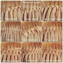 Different Types of Waterfall Braids by Abella's Braids one day I will learn how waterfall braid!: Types Of, Braids Hairstyles, Abellasbraids, Hair Styles, Waterfallbraids, Hair Braids, Hairstyles Braids, Waterfall Braids, Abella S Braids