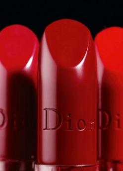 Dior lipstick. Photography by Laziz Hamani. A pure red lipstick is a must for any aspiring bombshell!: Red Lipsticks, Color Red, Dior Red, Makeup, Beauty, Dior Lipstick, Red Hot, Ravishing Red