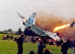 Ejected in time - just: Disaster, Aviation, Military Aircraft, Poster, Funny, Jets, Planes, Photo, Jet Crash