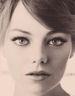 Emma Stone: Face, Emma Stone, Makeup, Beauty, Beautiful People, Stones, Eye
