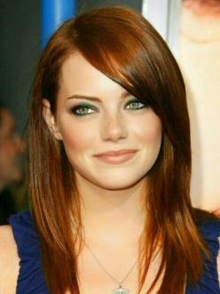 Emma Stone - I know she is a natural blonde but she is a gorgeous redhead! color: