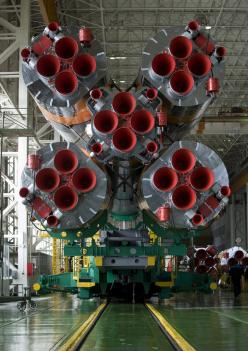 Expedition 19 Soyuz Launch Vehicle /by NASA: Soviet Rockets, Astronaut Nasa, Engine Mechanical, 19 Soyuz, Aircraft Mechanics, Rocket Engines, Mechanical Engineering, Soyuz Rocket