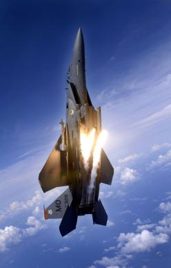 F-15 Eagle..... F- 150 Raptor.  I can't spin this around in the Air Force, but I can sure spin a Ford around the block.  I understand my plans to enter the Air Force were not God's- But I see hope.  This is such a motivational picture.   From my k