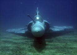 Fighter jet rises from the bottom of the sea: Airforce, Air Force, Hellenic Air, Aircraft, Intact Airframe, Fighter Jets