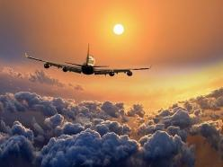 Fly away above the clouds.  Heading into the sunset.  Go to www.YourTravelVideos.com or just click on photo for home videos and much more on sites like this.: Clouds, Photos, Fly, Airplane, Sunset, Travel, Planes, Photography