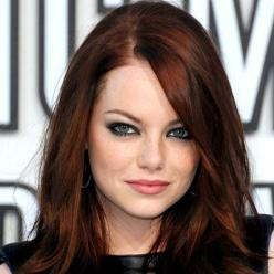 Google Image Result for http://www.beautystylewatch.com/wp-content/uploads/2012/10/emma-stone-beauty-look1.jpg: Hairstyles, Hair Colors, Red Hair, Haircolor, Emma Stone, Makeup, Hair Style, Stones