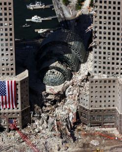Ground Zero. How come I've never seen this photo? In any case it still makes me sad.: September 11, 9 11 2001, Twin Towers, Crime Scene, Ground Zero, New York, 9 11 01, Photo, 911
