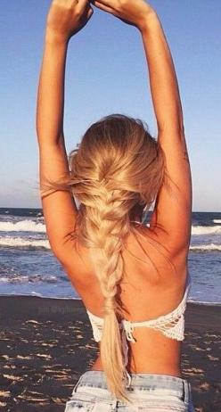 Hairstyles ideas and tutorials, see on http://pinmakeuptips.com/best-hairstyles-for-female-glasses-wearers/: Plait Hairstyle, French Plait, Hair Length
