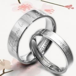 Handmade Groom Lord of Ring Elvish Matching Wedding Engagement Titanium Couple Rings Set Flat Comfort Fit. $116.00, via Etsy.: Wedding Inspiration, Handmade Rings, Wedding Bands, Ring Elvish, Wedding Rings, Bride, Lord Of The Rings