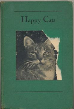 Happy Cats. The fact we can't get hold of this is one of the most disappointing things we can think of.: Cats Cats, Animals, Vintage Book, Book Covers, Happy Cats, Photo, Cats Book