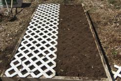 "How easy is this!!!?!????! Want backyard veggies? As Rosalind Russell declared in the movie classic, Auntie Mame... ""Help is on the way, dahlings!"": Gardening Tips Scroll, Square Foot Gardening, Movie Classic, Garden Trellis, Gardening Ideas, Crea"