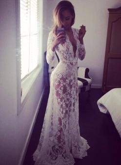I would wear this around the house just because: Honeymoon, Fashion, Lingerie, Lace Robe, Style, Wedding Dresses, Wedding Night, Lace Dresses