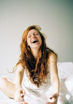 It's always inspiring to wake up with a smile: Post, Happy, Redheads, Smile, Hair, Red Head, Photography