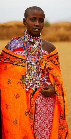 it's that sunset blue with all the purple in it that makes her orange just pop!: Maasai People, Tribe, Masaai Woman, Beautiful People, Tanzania, Africa, Photo, Culture