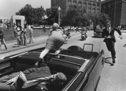 Jackie screams for help as her husband, the President, falls wounded to the seat. I have never before seen this shot.  I wonder why it has taken so long to get in to the public domaine? No words can describe this moment.: Picture, History, Jackie Kennedy,