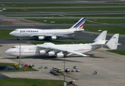 Just by way of comparison - here's what a Mriya looks like next to a Boeing 747.: Dream, Airplane, Aircraft, Planes, Antonov An 225