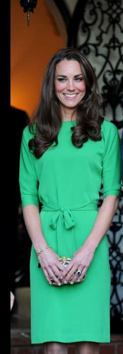 Kate Middleton: Bright, Royal, Dress Workwear, Beautiful Color, Kate Middleton, Dress Styles, Hair, Cambridge