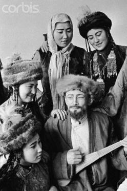 Kyrgyz People in Traditional Clothing: Central Asia, Kyrgyzstan Beautiful, Ethnic Costume, Bluebeard Opera, Google Search, Kyrgyzstan Men, Asian Turkish, People, Central Kyrgyz