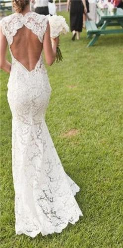 lace wedding dresses... if it made a heart and was a corset at the bottom of it perfect: Wedding Dressses, Weddingdress, Lace Wedding Dress, Wedding Dresses, Wedding Ideas, Dream Wedding, Open Backs, Future Wedding