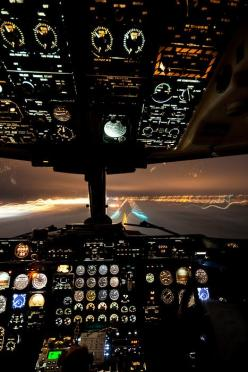 Lights & View: Aviation, Cockpit, Fly, Airplane, Aircraft, Photo, Planes