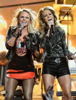 """Listen to our ultimate girl power playlist (including Miranda Lambert and Carrie Underwood's new duet """"Somethin' Bad"""").: Girls, Ultimate Girl, Power Playlist, Country Girl, Carrie Underwood, Girl Power, Mirandalambert Carrieunderwood, Mira"""
