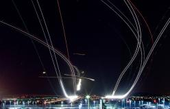 Long Exposure Photos of Planes Taking Off and Landing at SFO: Amazing Long, Hot Air Balloon, Air Traffic, Airplanes Time Lapsed, Airplanes Rule, Long Exposure Airplane 11, Long Exposure Photos
