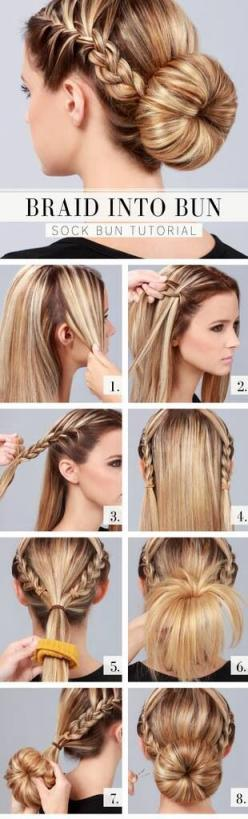 Long Hair, Complex Do. Hairs styling I think is a creative way to show off your talent with anything hair and is quick way to style anyone's hair. I myself do not know how to even braid hair so this is something I think I can benefit from, and teach t