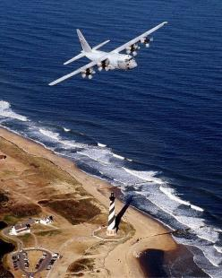 May 16, 1992: The 2,000th C-130 Hercules rolls off the production line.: Aviones Militares, Flight Plane Jets, Lighthouses, Capes, Cape Hatteras, Buxton Lighthouse, North Carolina