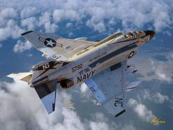 McDonnell Douglas F-4 Phantom II, US Navy, VF-96, USS Constellation.: F 4 Phantom, Mcdonnell Douglas, Airplane, Aircraft, F4 Phantom, Navy, Phantom Ii, F4Phantom