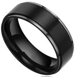 Men's Titanium Wedding Bands. There's something I love about the black rings...: Titanium Wedding Band, But, Black Titanium, Titanium Rings, Black Wedding, Wedding Ideas, Wedding Bands, Wedding Rings